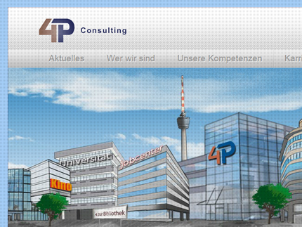 Websiteprojekt 4P Consulting