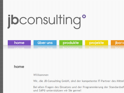 Websiteprojekt JB-Consulting