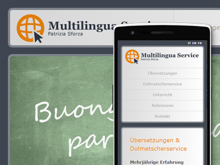 Websiteprojekt Multilingua Service